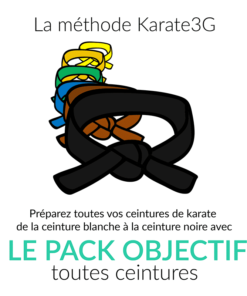 Packs Objectifs Karate3G
