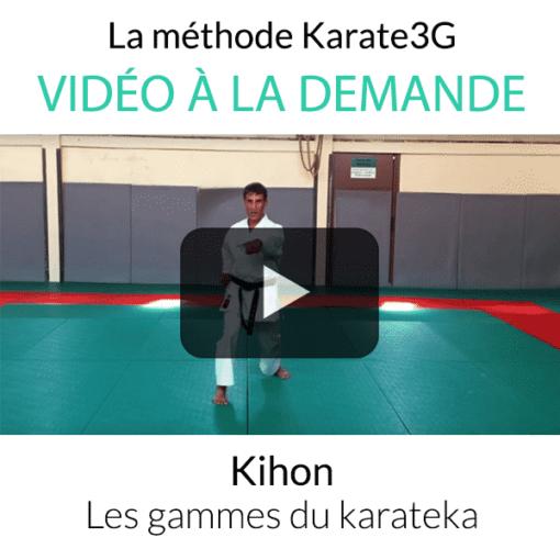 Kihon les gammes du karateka