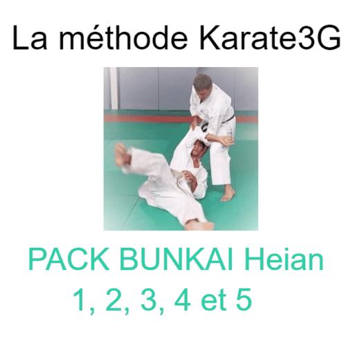 pack bunkai karate3g heian